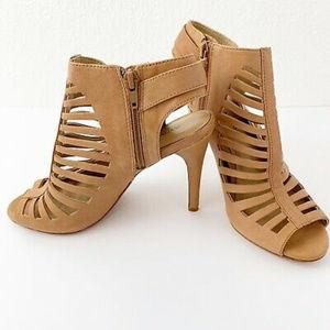 Antonio Melani Womens Shoes Heels Strappy Leather